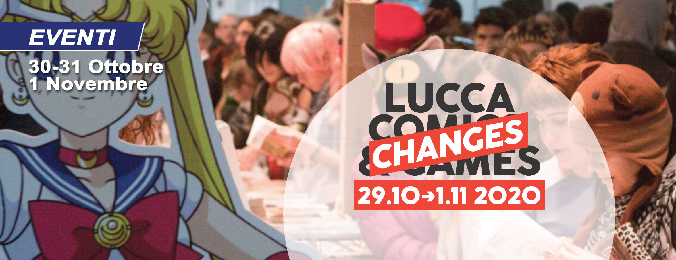 Lucca Cominc & Games Changes